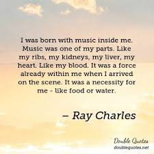 born with music inside me
